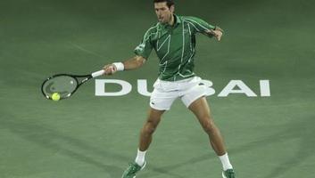 Tenisz: Đoković könnyedén jutott az elődöntőbe Dubajban - illusztráció