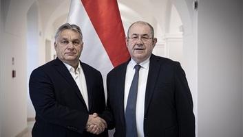 Orbán Viktor Pásztor Istvánnal, a VMSZ elnökével tárgyalt - illusztráció