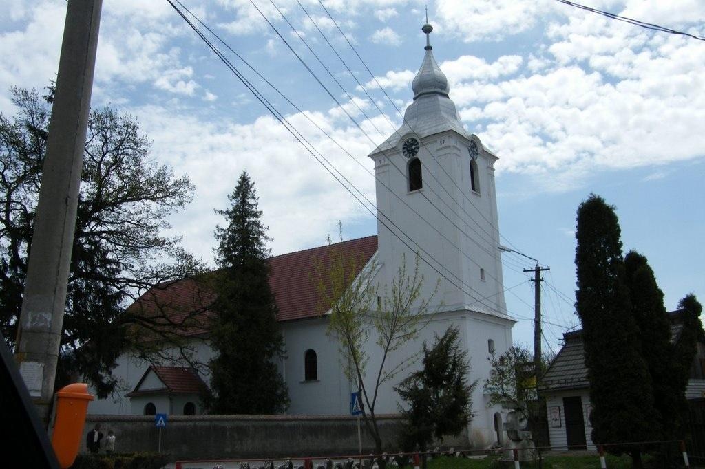 A kovásznai református templom