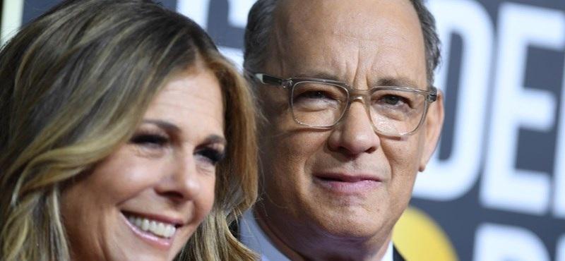 A hollywoodi sztár Tom Hanks és szintén színész felesége, Rita Wilson koronavírustesztje pozitív lett