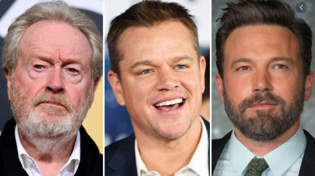 Ridley Scott, Matt Damon és Ben Affleck
