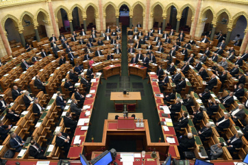 Országgyűlés: Az ellenzék elutasította a veszélyhelyzet meghosszabbítását - A cikkhez tartozó kép