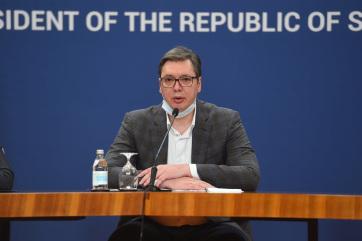 Vučić: Változik a koronavírus elleni küzdelem - A cikkhez tartozó kép