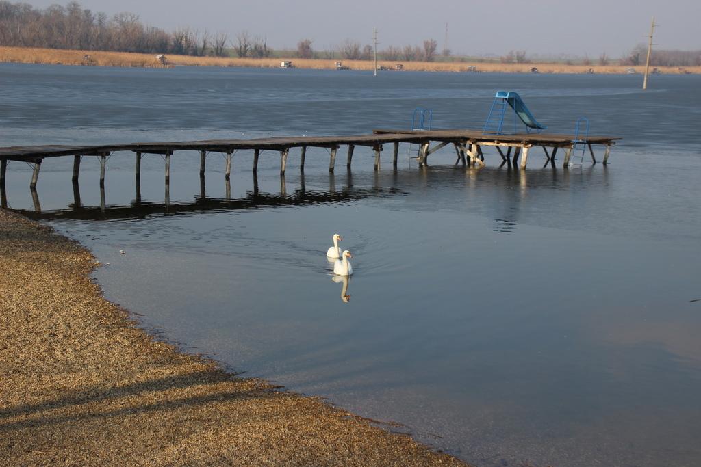A továbbiakban a tópart sem látogatható