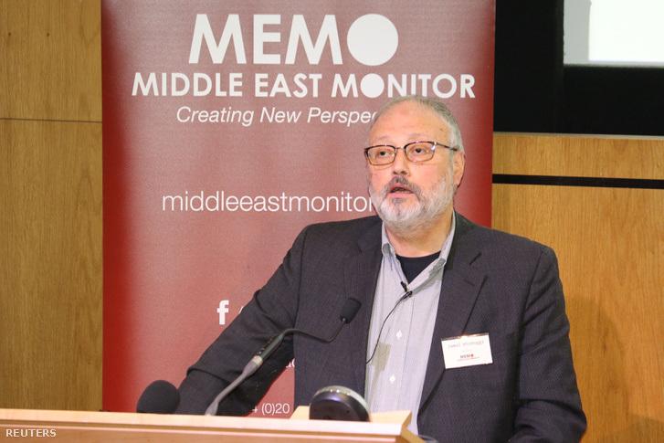 Dzsamál Hasogdzsi, a meggyilkolt szaúdi ellenzéki újságíró