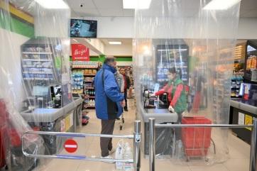Vasárnap a magyarcsernyei községben is vásárolhatnak már a 65 évesnél idősebbek - A cikkhez tartozó kép