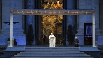 Papa Franjo: Epidemija je čovečanstvo stavila pred izbor - illusztráció