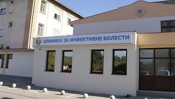 A Vajdasági Klinikai Központban összesen 25 koronavírus-fertőzöttet ápolnak - illusztráció