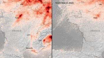 Jelentősen csökkent a légszennyezés Európa nagyvárosaiban - illusztráció