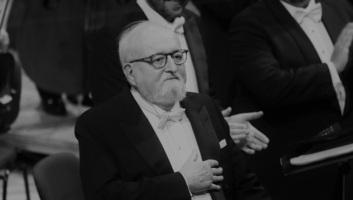 Elhunyt Krzysztof Penderecki lengyel zeneszerző - illusztráció