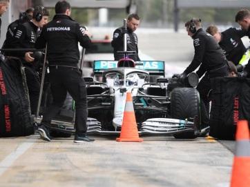 F1: A Mercedes mérnökei megoldást találtak a lélegeztetőgép-hiányra - A cikkhez tartozó kép