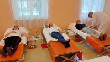 Magyarkanizsa: Önkéntes véradás a rendkívüli helyzetben is - illusztráció