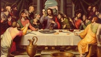 Nagycsütörtökön az utolsó vacsorára emlékeznek a keresztények - illusztráció