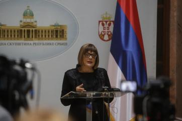 Maja Gojković: Folytatódik a választási tevékenység - A cikkhez tartozó kép
