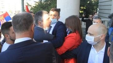 A szerbiai belügyminisztérium feljelentést tett Boško Obradović ellen - A cikkhez tartozó kép