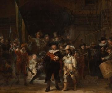 A mester maga sem láthatta ilyen aprólékosan: Óriás felbontású kép készült Rembrandt Éjjeli őrjárat című mesterművéről - A cikkhez tartozó kép