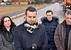 Újhelyi Ákos nyilatkozik a sajtónak - miniatűr változat