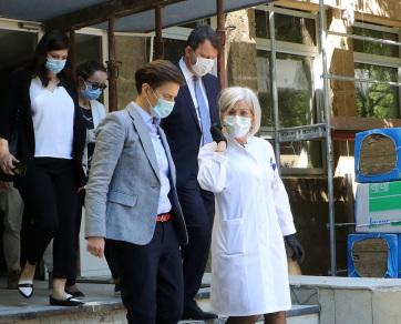 Brnabić: Vajdaságban jó a járványügyi helyzet - A cikkhez tartozó kép