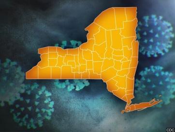 New York államban továbbra is emelkedik a járvány halálos áldozatainak száma - A cikkhez tartozó kép