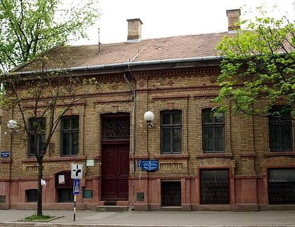 A zeneiskola épülete