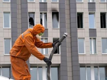 Hárman meghaltak egy újabb kórházi tűzvészben Oroszországban - A cikkhez tartozó kép