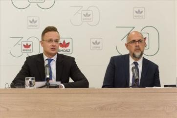 Szijjártó: Szeretnénk, ha Magyarország nem lenne téma a romániai választási kampányokban - A cikkhez tartozó kép