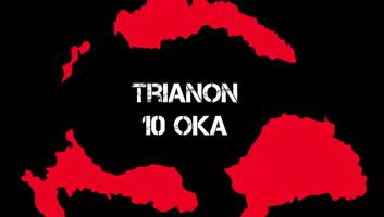 A Trianon 10 oka c. Youtube-sorozat és a Trianon100 applikáció - illusztráció