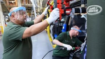 A koronavírus-járvány miatt áprilisban mindössze 197 autót gyártottak Nagy-Britanniában - A cikkhez tartozó kép