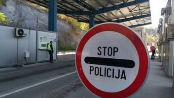 Koszovó: Zűrzavar Jarinjénél, mintegy száz teherautó várakozik az átkelőnél - illusztráció