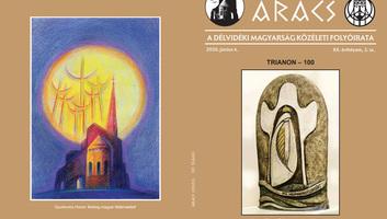 Az Aracs folyóirat  Trianon-számának tartalmából - illusztráció