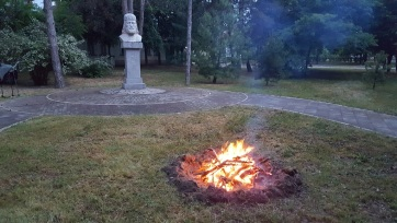 Fellobbant az összetartozás tüze Horgoson - A cikkhez tartozó kép