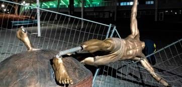Ibrahimović szobra marad Malmőben - A cikkhez tartozó kép