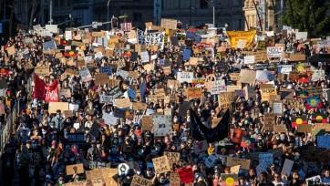 Világszerte tömegek tiltakoztak a rasszizmus ellen - A cikkhez tartozó kép