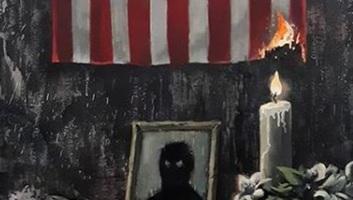Banksy megrendítő alkotással refelektál George Floyd halálára - illusztráció