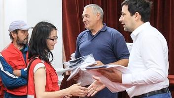 Ada: Az önkéntes segítőket fogadták a községházán - illusztráció