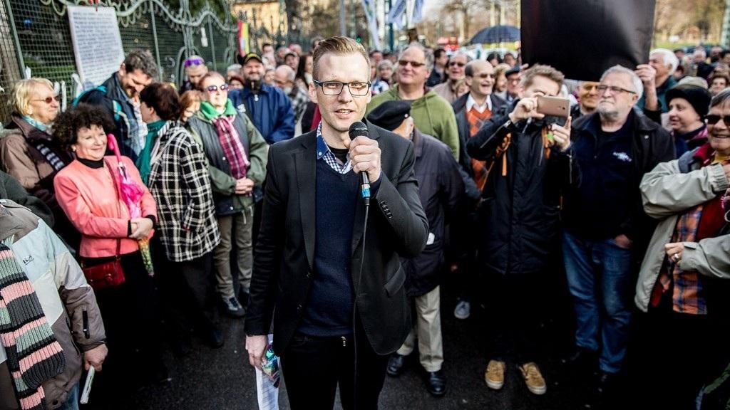 Pukli István, a Tanítanék Mozgalom vezéralakja az oktatási kampány hajrájában