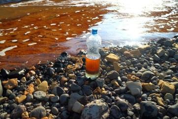 Megtisztították az Ambarszkaja folyót a norilszki olajömlés után - A cikkhez tartozó kép