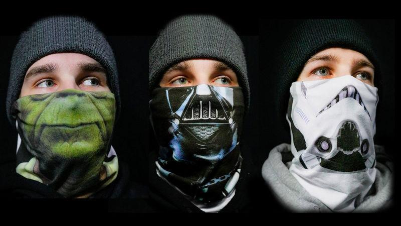 A Star Wars ihlette maszkok