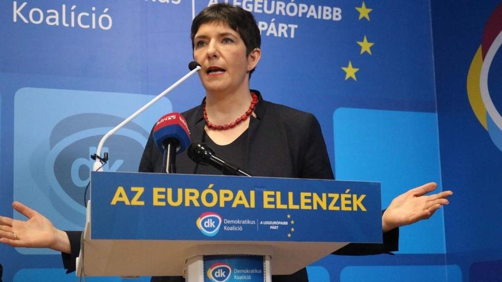 Dobrev Klára, a DK EP-képviselője. Európai elképzelés gyanús foltokkal