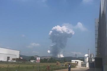 Robbanássorozat indult be egy törökországi tűzijáték-gyárban, sok sérült - A cikkhez tartozó kép
