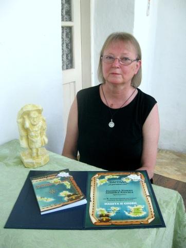 Kovács Jolánka Napóra-díjban részesült - A cikkhez tartozó kép
