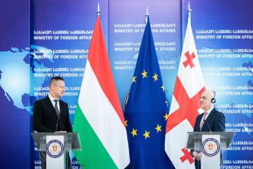 Szijjártó Péter szerint a keleti partnerség az Európai Unió egyik legfontosabb politikája - A cikkhez tartozó kép