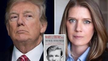 Könyvet írt Trump unokahúga: Nem a legkedvezőbb színben tünteti fel az elnököt - illusztráció