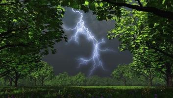 A klímaváltozással egyre gyakoribbá válnak a gyilkos villámcsapások - illusztráció