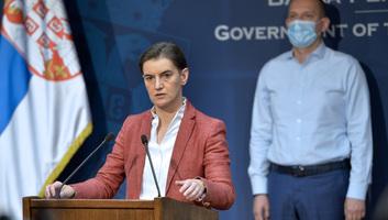 Brnabić: Figyelemmel kísérjük a helyzetet, a legrosszabb Belgrádban, Šabacon, Kragujevacon és Novi Pazarban - illusztráció