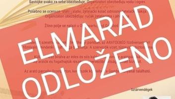Elmaradnak a hétvégére tervezett rendezvények Zentán - illusztráció