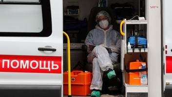 Koronavírus: Moszkvában megszűnt a kötelező utcai maszkviselet - illusztráció