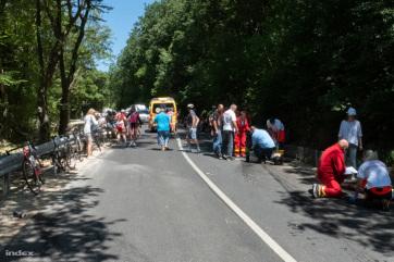 Lovassy Krisztián: Én még ennyi vérző embert kerékpárversenyen nem láttam - A cikkhez tartozó kép