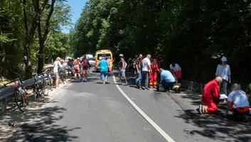 Lovassy Krisztián: Én még ennyi vérző embert kerékpárversenyen nem láttam - illusztráció