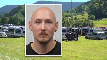 Üldöznek a Fekete-erdőben egy férfit, aki lefegyverzett négy rendőrt - illusztráció